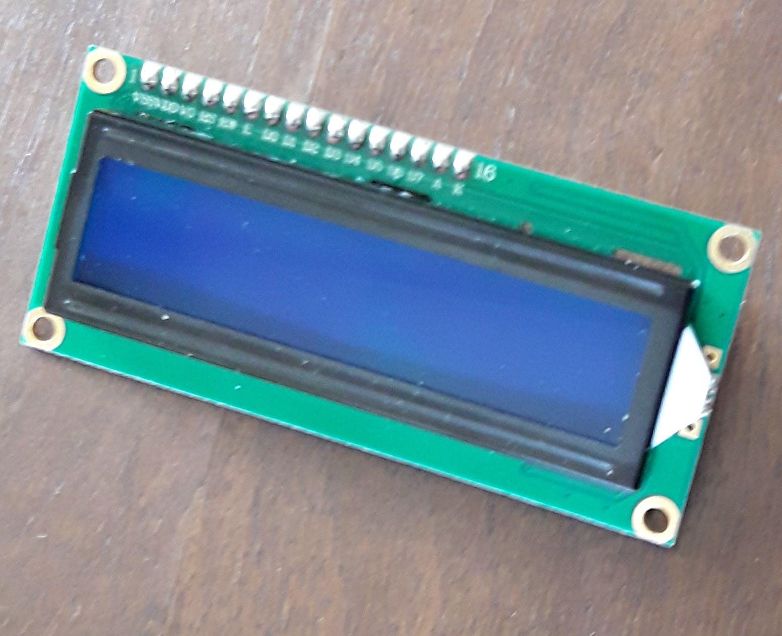 LCD I2C 1602 Display