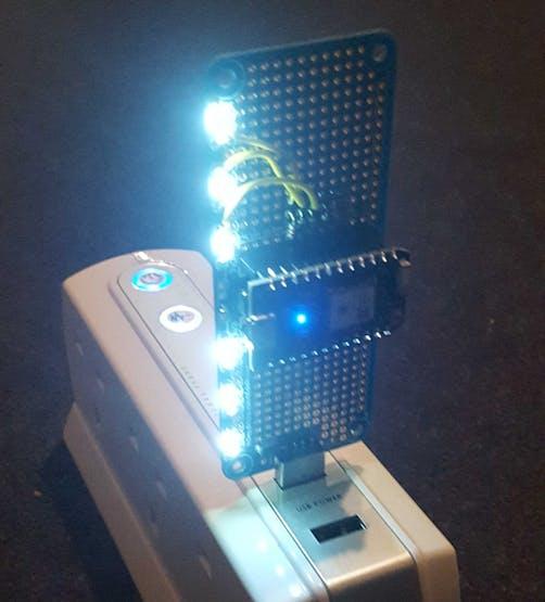 Powering the Photon through a USB outlet