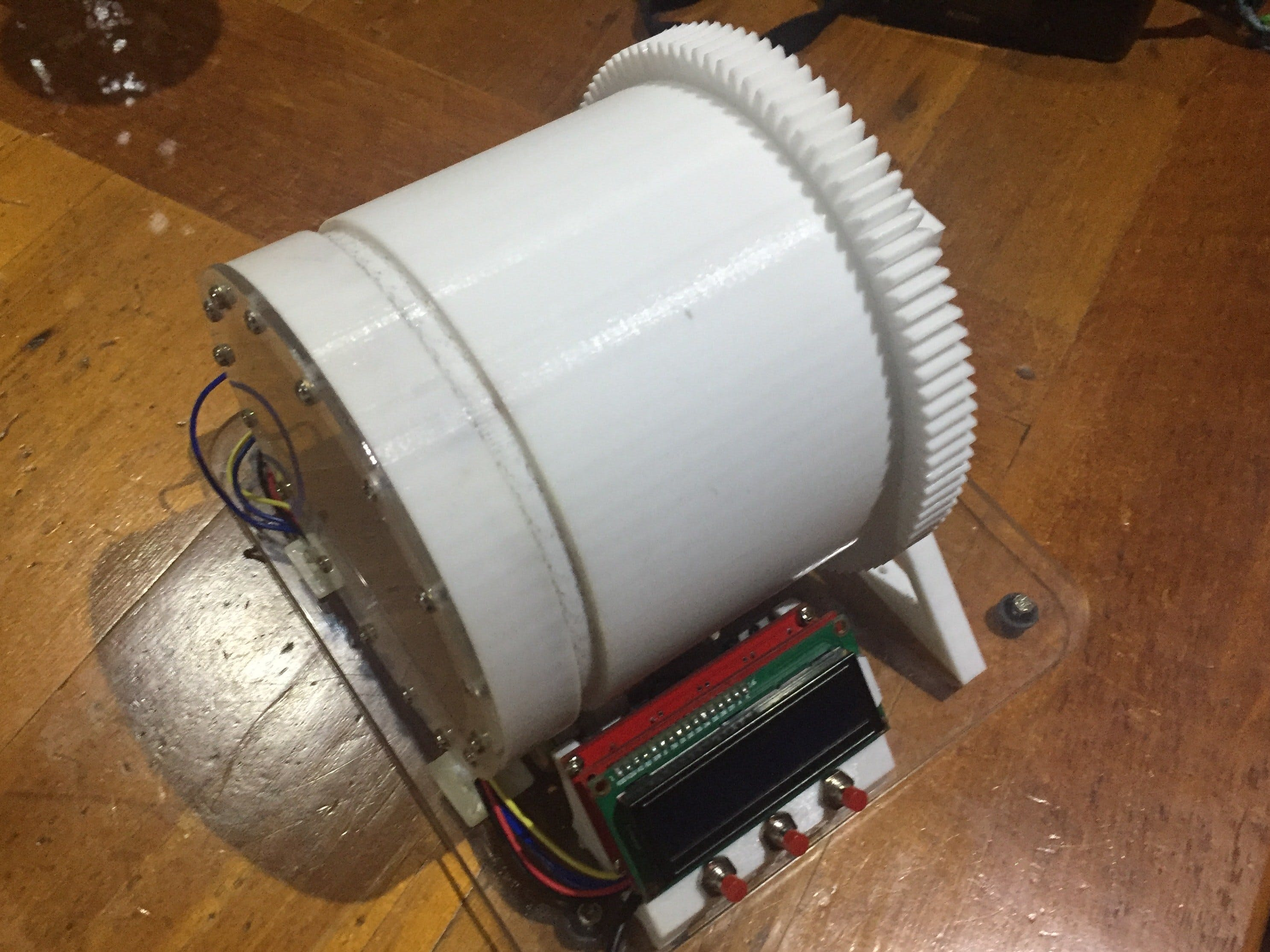 3D Printed Ball Mill