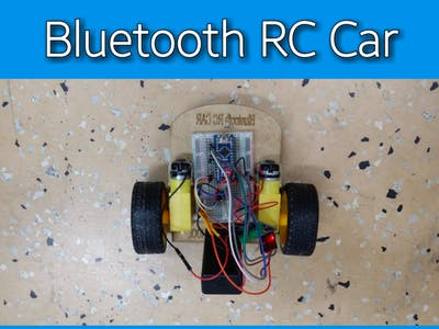 Bluetooth RC Car