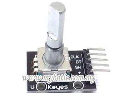 Rotary Encoder or Arduino 360 Degree Encoder