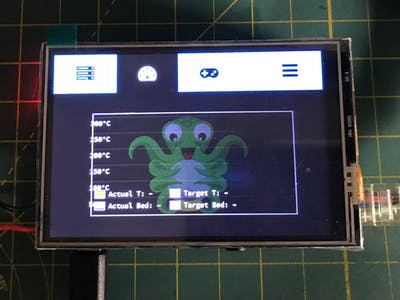 How To: TFT LCD with TouchUI on Raspberry Pi OctoPi Rig
