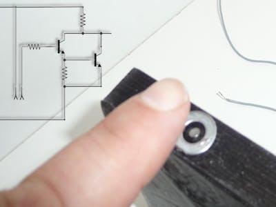 Sensor Pushbutton with Darlington Pair
