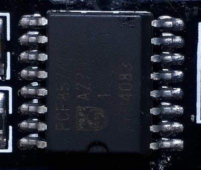 The PCF8574 I2C, 8 bit, I/O expander