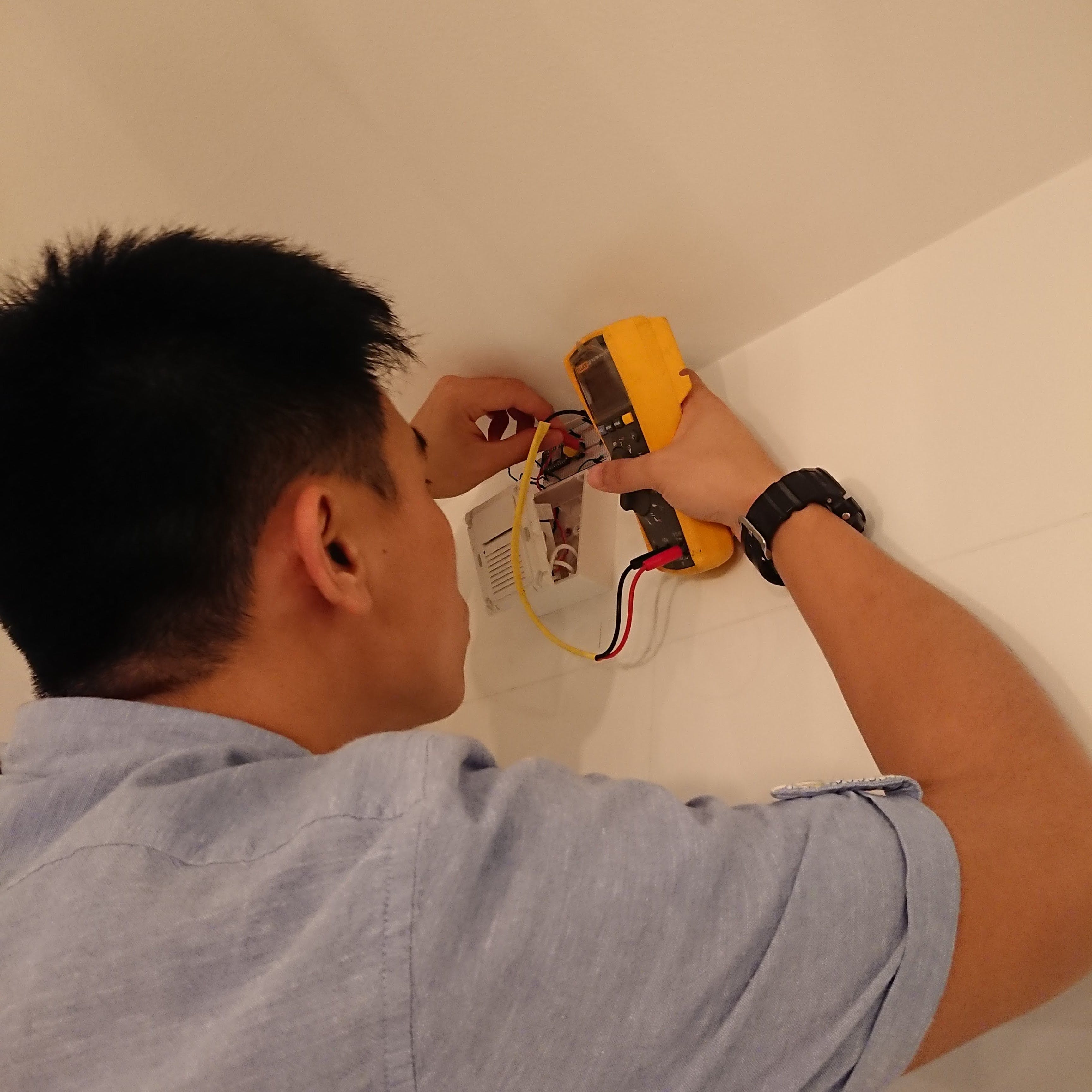 Kenneth troubleshooting the connectivity