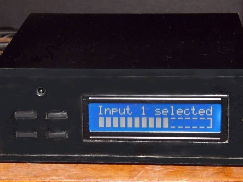 A Remote Controlled Stereo Volume Control