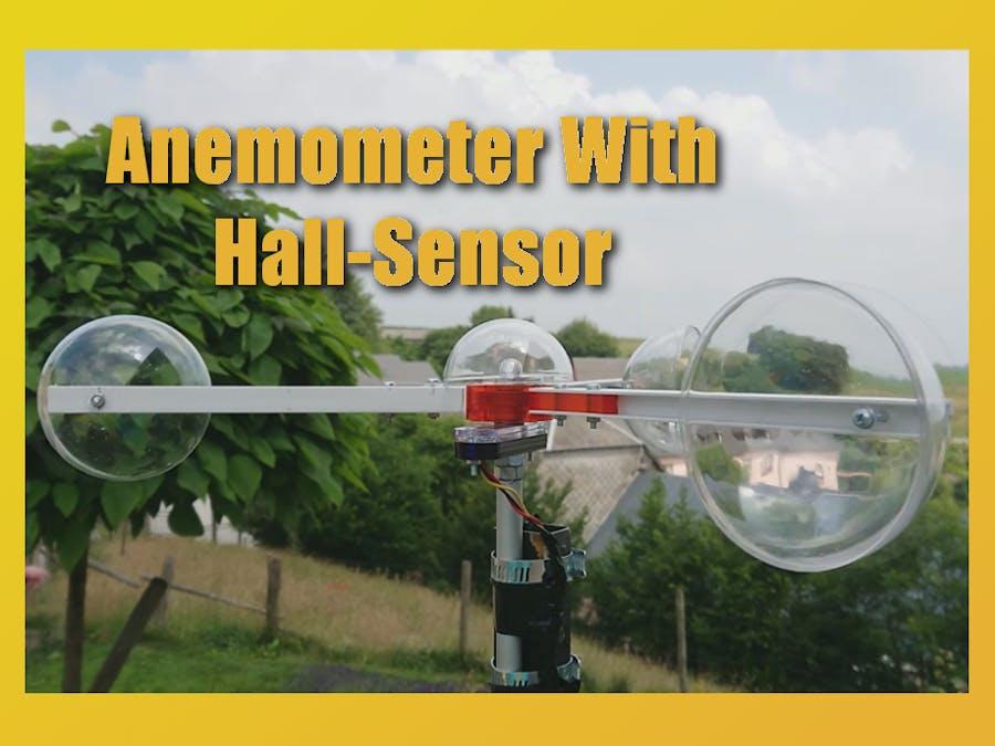 DIY Anemometer with Hall-Sensor - Hackster io