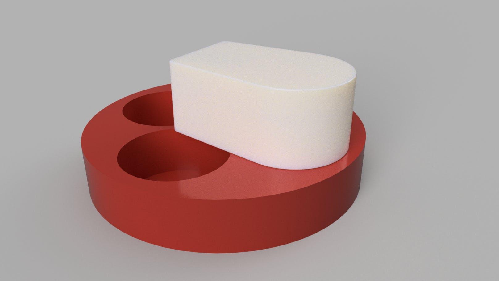 Bottom Canister Design, initial