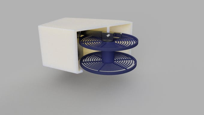 Internals of Rotating Assembly