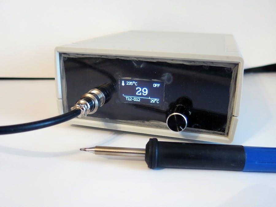 Soldering Iron Controller for Hakko T12 Tips on STM32 ... on