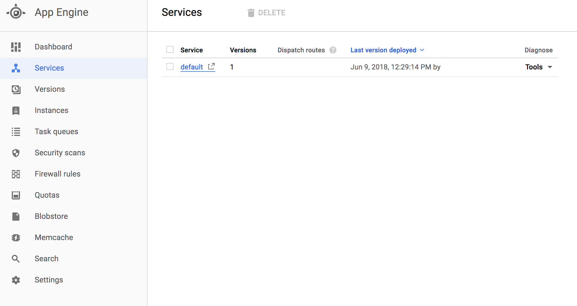 Google App Engine Services