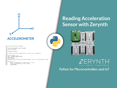 Reading Acceleration Sensor with Zerynth