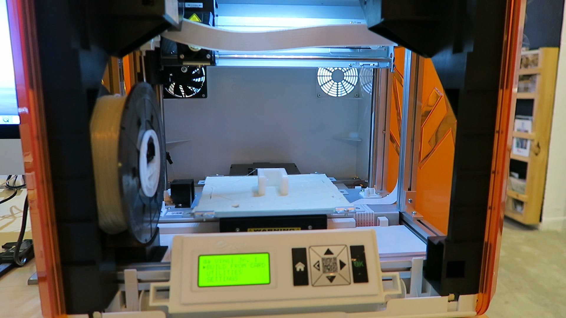 3D-printed case to house the electronic components