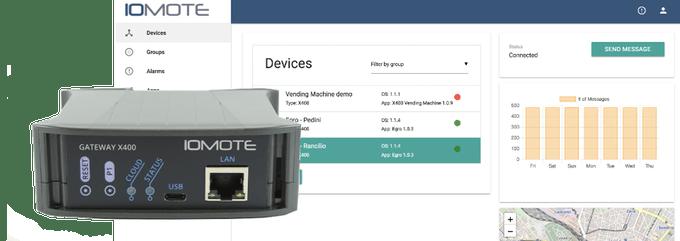 Mymote Cloud and X400 Edge Gateway