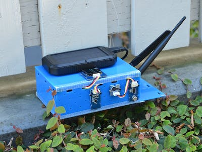 SPCPM (Solar Powered City Pollution Monitor)