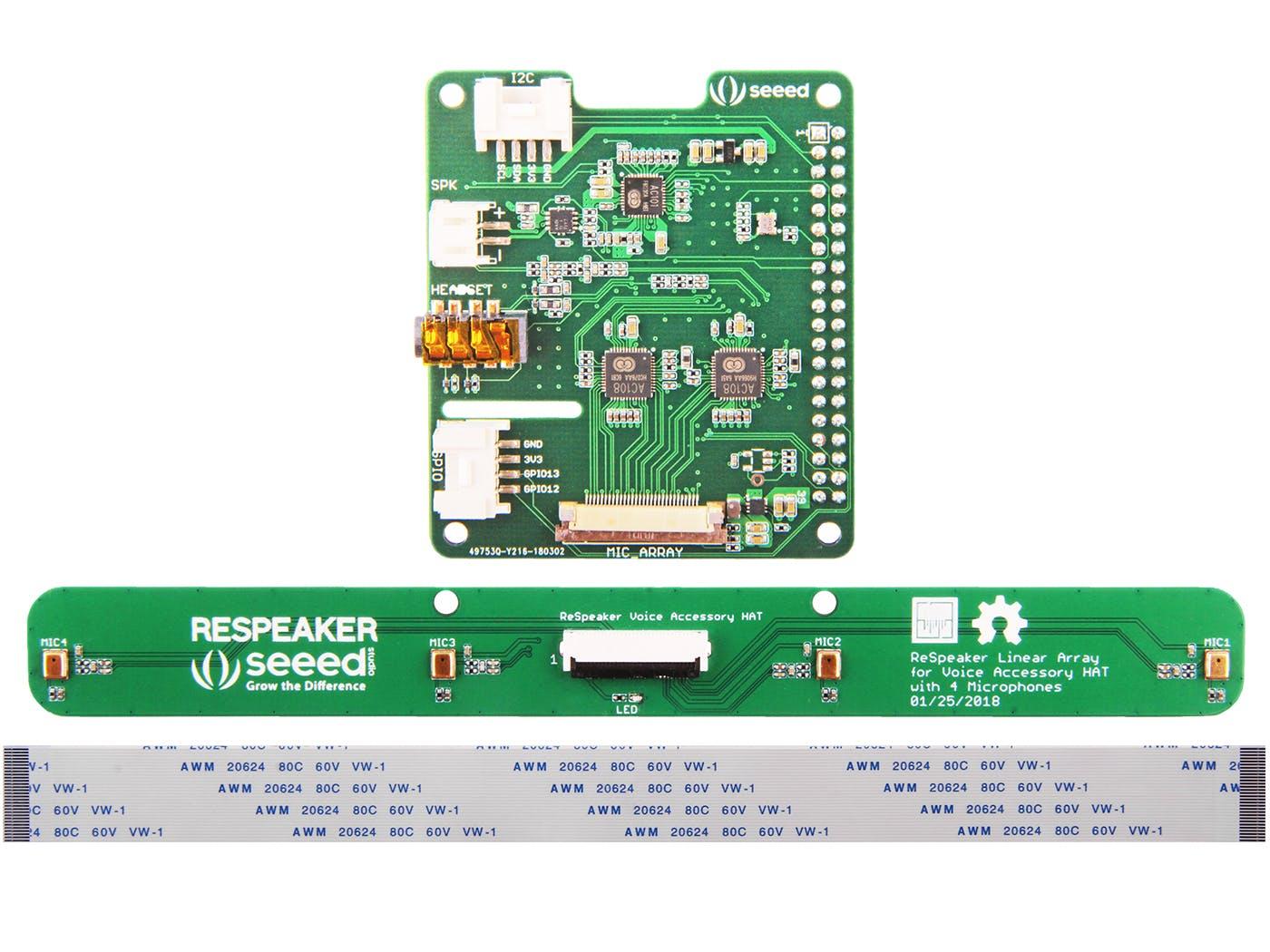 ReSpeaker 4-Mics Linear Array Kit