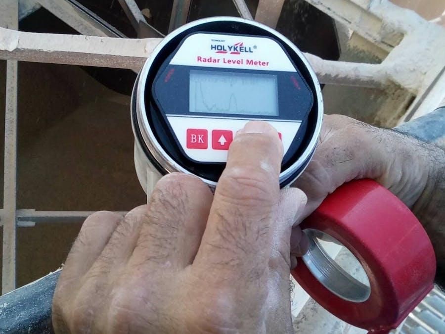 Holykell Radar Level Sensor For Lime Level Measurement
