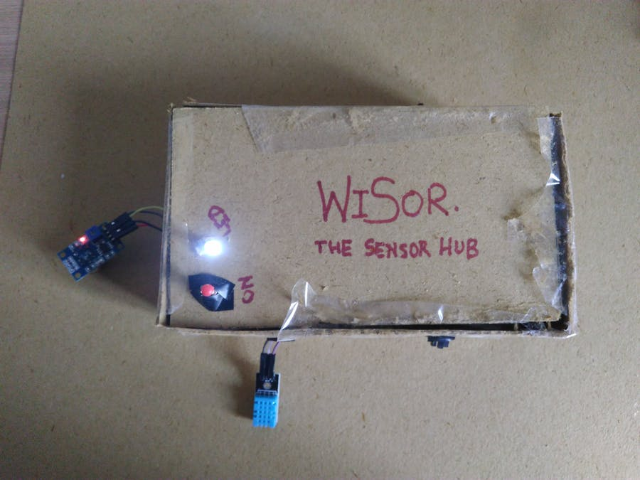 WiSor - The Wireless Sensor Hub