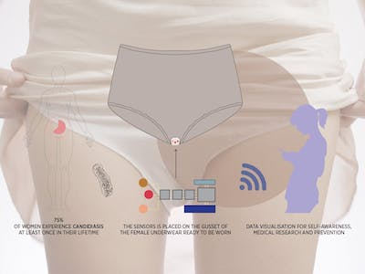 Alma - Wearable Biosensor for Monitoring Vaginal Discharge