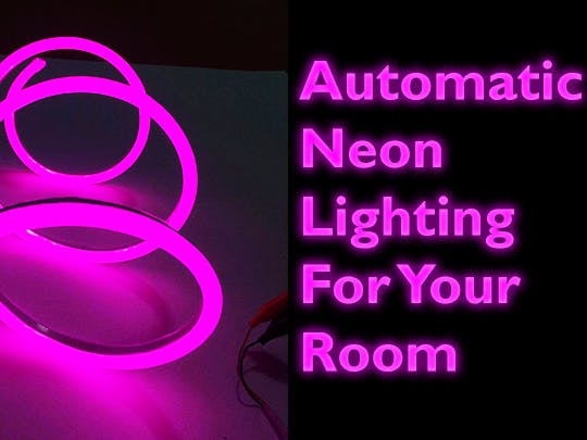 Automatic Cool Blue Lights for Your Room