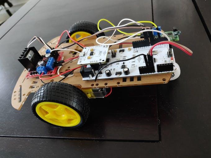 Final robot car