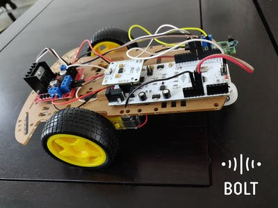 Bolt Controlled Robot Car