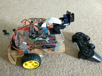 PS3 Joystick Controlled Raspberry Pi Robot - Hackster io