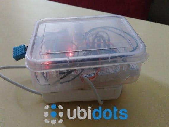 Ubitdots Powered Monitoring System