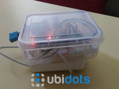 Ubitdots Powered Monitoring System