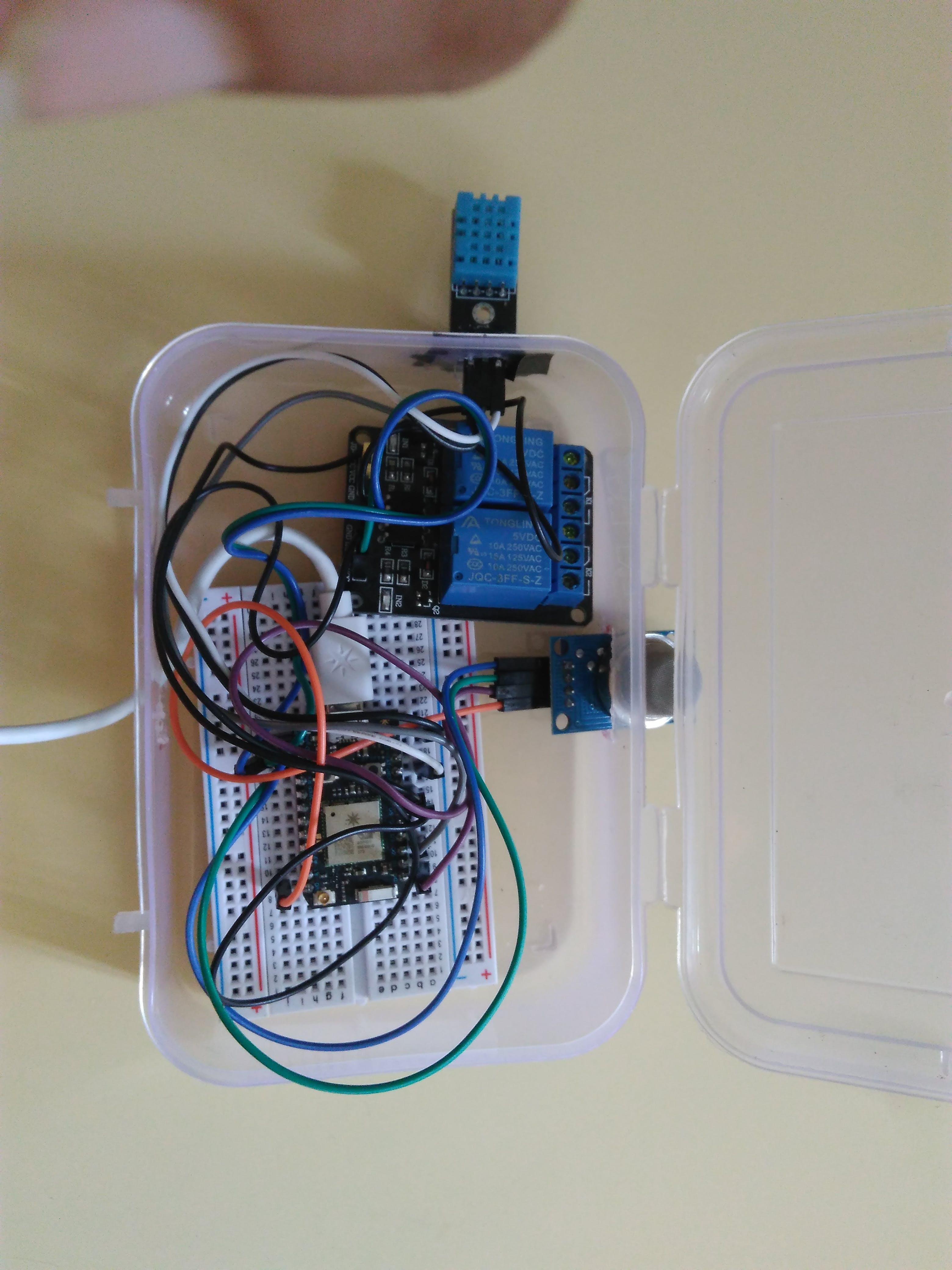 The final hardware circuit