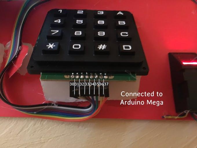 Keypad Wiring