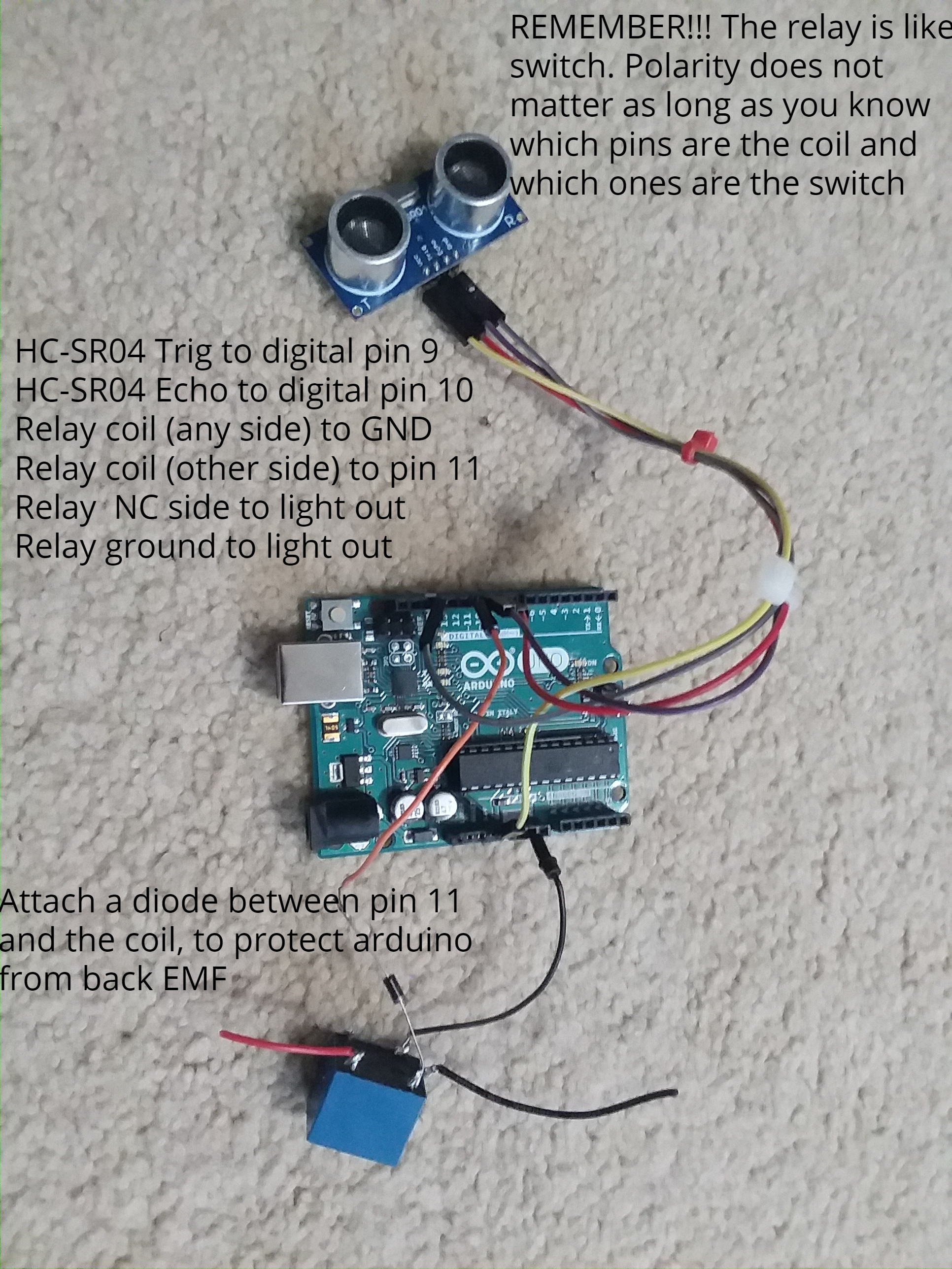 After Wiring Up All Upload This Code Into Your Arduino