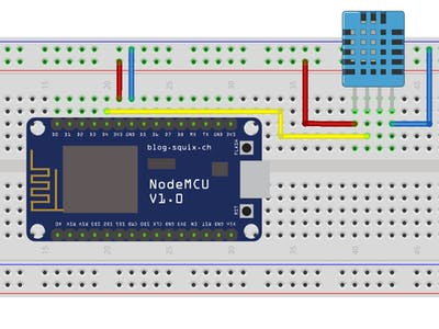 NodeMcu to DHT Interface in Blynk app| On IOT Platform