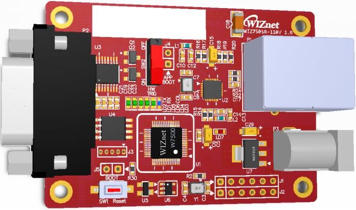WIZ750SR Device