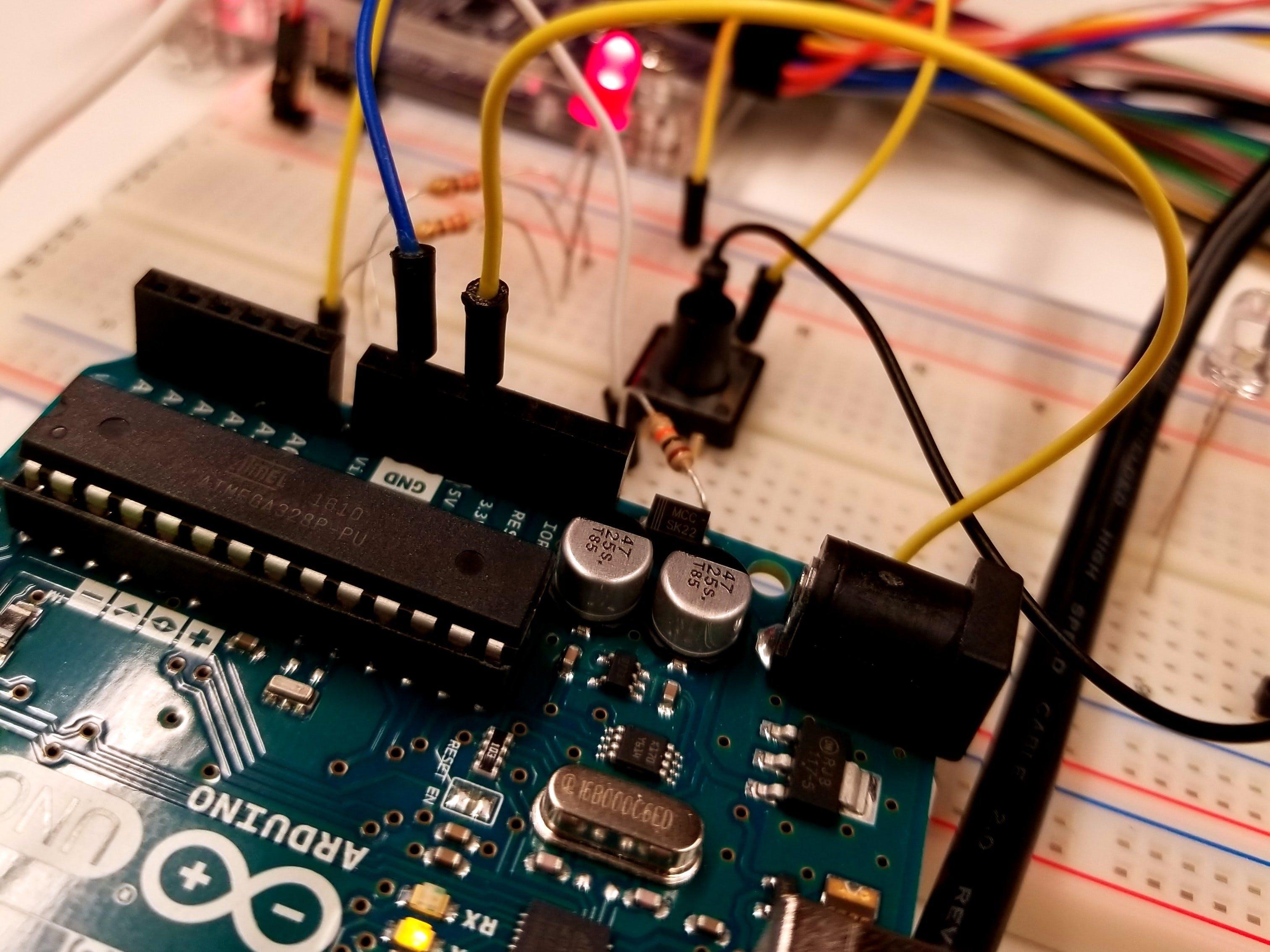 Arduino Button Troubleshooting