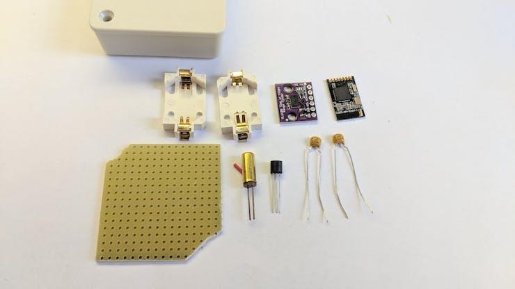 Dog food sensor build ...