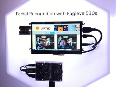 Facial Recognition with ARTIK Eagleye 530s