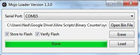 Binary Counter for Mojo V3 FPGA (VHDL) - Hackster io