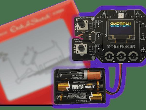 Etch A Sketch Hackster Io
