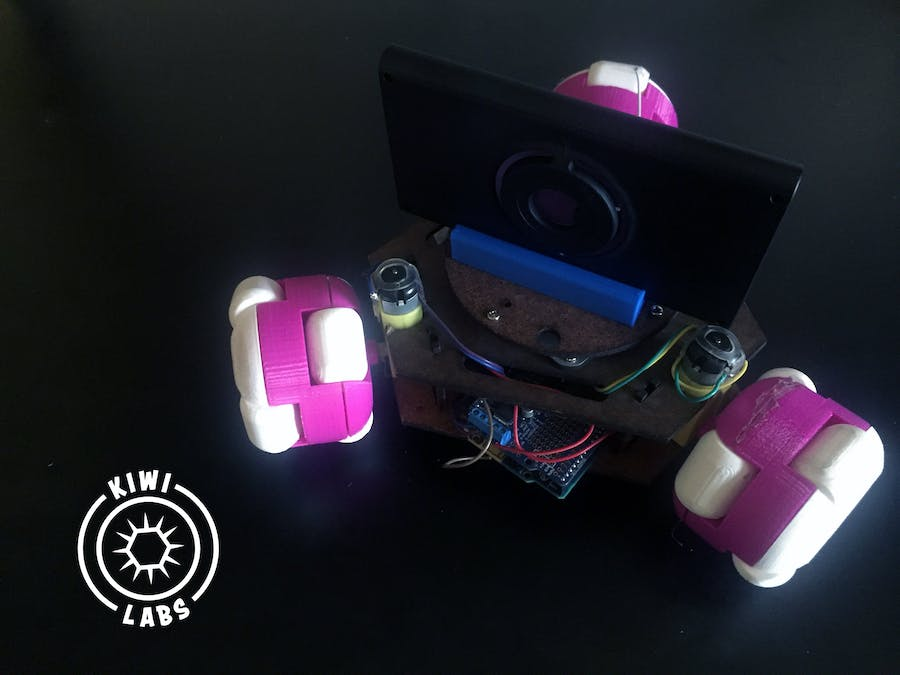 Kiwi Jr Open-Source Robotics Platform