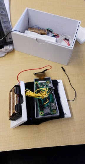 Electronic Components Inside