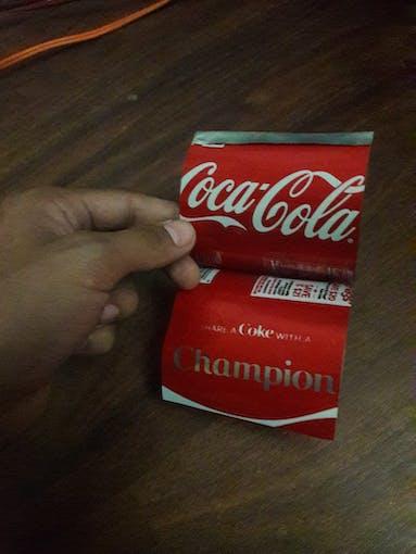 Soda Can Turned Sheet