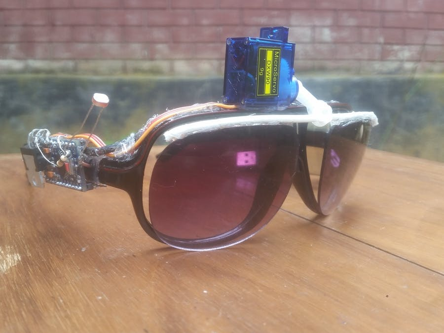 SunGlass-BOT [An Automated Pair of Sunglasses]