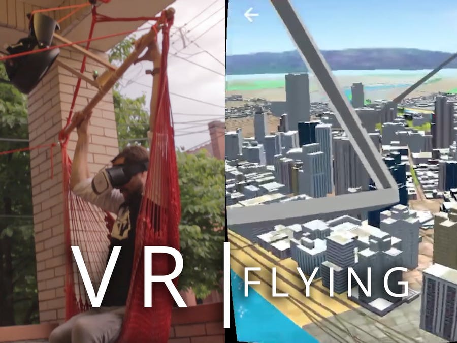 Virtual Reality Flying Machine