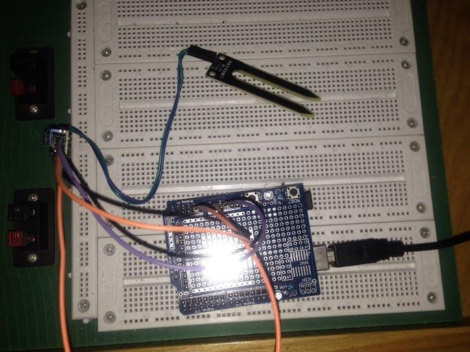 Soil Moisture Sensor Experiment Based on Arduino - Hackster io