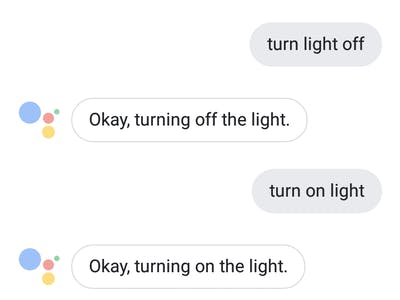 Home Automation Using OpenHab Server and Google Assistant