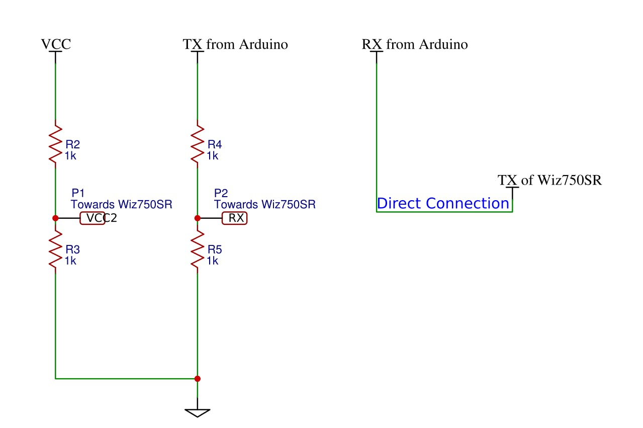 Use appropriate resistor values( neglect the 1k shown above)