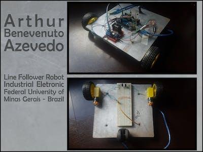 Line Follower Robot - Arthur Azevedo - UFMG