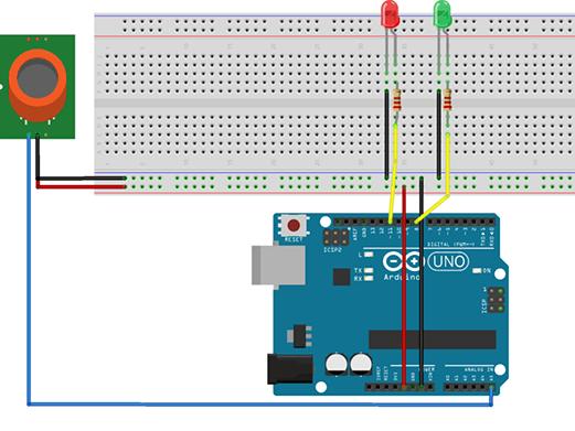 MQ-4 Natural Gas Sensor Experiment Based on Arduino - Arduino
