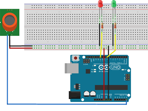 MQ-4 Natural Gas Sensor Experiment Based on Arduino